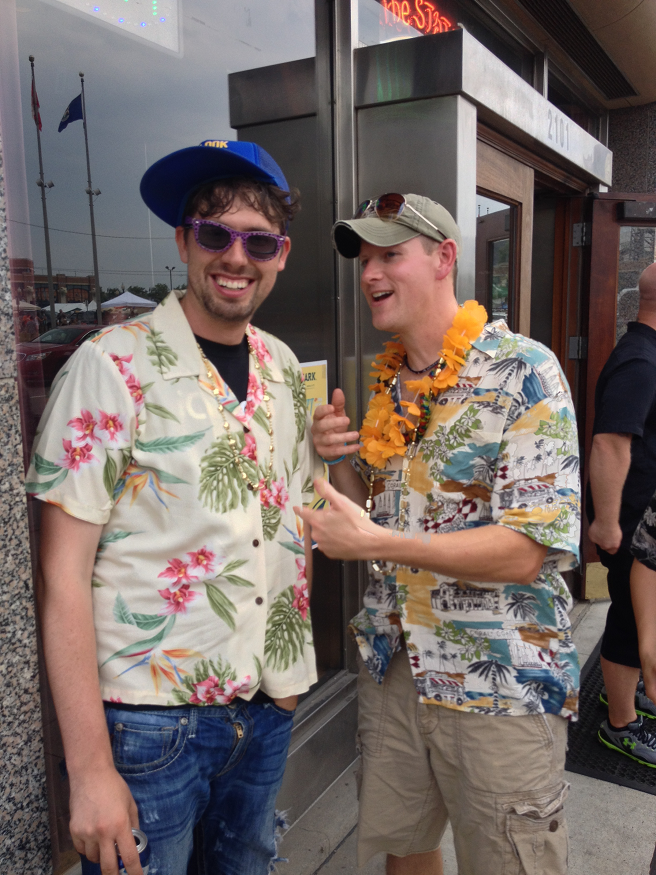 Fans-Eric-And-Matt-Tucker-At-Jimmy-Buffett
